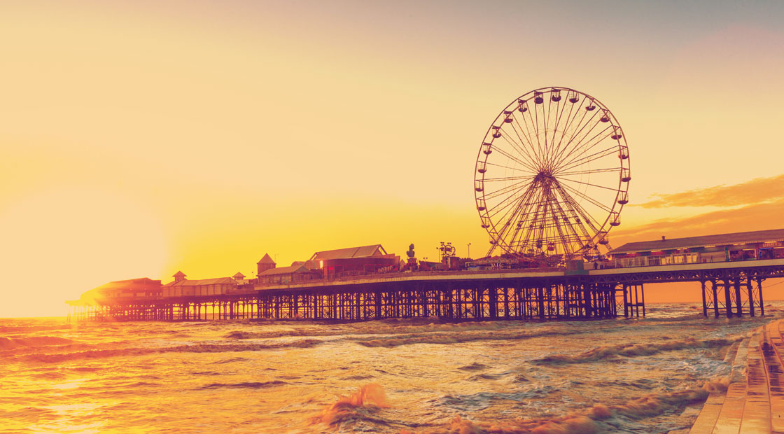 Book a minibus and enjoy a UK Staycation in Blackpool… the Vegas of the north and Britain's most historic seaside resort with plenty to offer families and groups alike.