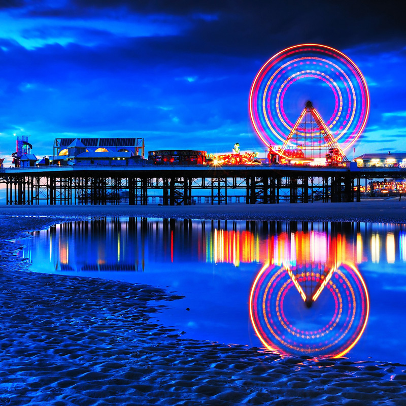 Visit Blackpool on one of our minibuses, the UKs capital of fun and the North West's best seaside resort